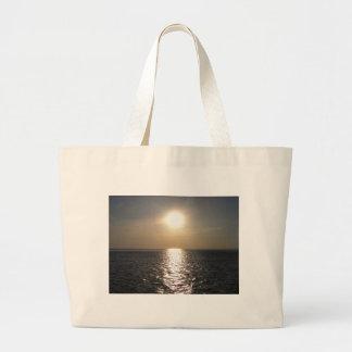Ocean Sunset 2 Large Tote Bag