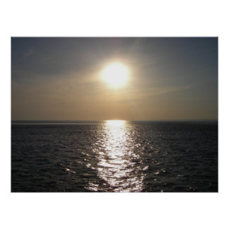 Ocean Sunset 2 Poster