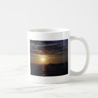 Ocean Sunset 3 Classic White Coffee Mug
