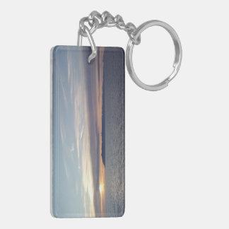 Ocean Sunset Acrylic Keychain