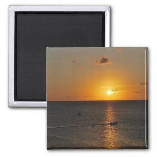 Ocean Sunset - Aruba Magnet