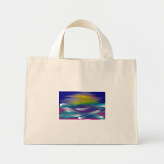 ocean sunset bag
