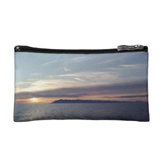 Ocean Sunset Bagettes Bag Cosmetic Bags