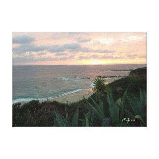 Ocean Sunset Canvas Gallery Wrap Canvas