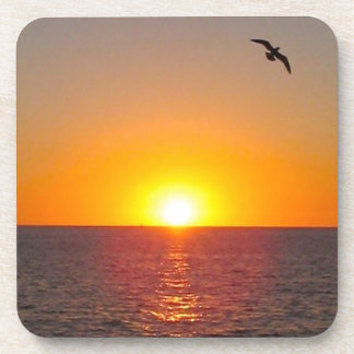 Ocean Sunset Coaster Set