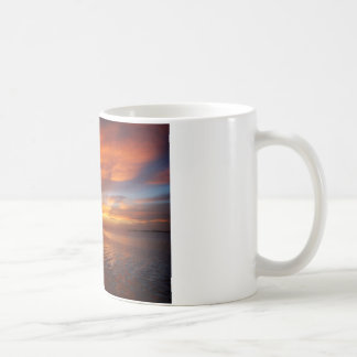 Ocean sunset coffee mug