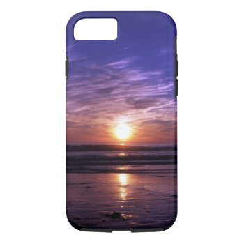 Ocean Sunset Iphone 7 Case by Artnmore at Zazzle