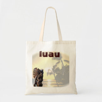 Ocean Sunset Luau Tote Bag