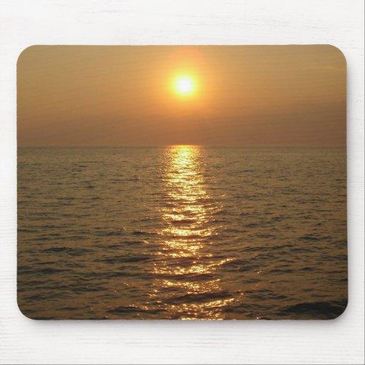 Ocean Sunset Mouse Mat