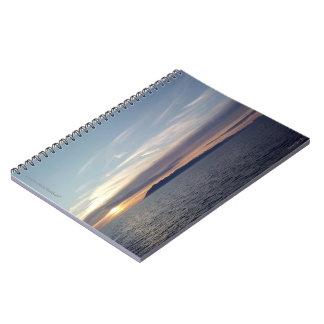 Ocean Sunset Notebook
