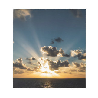 Ocean Sunset Notepad