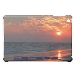 Ocean Sunset - Oak Island, NC iPad Mini Covers