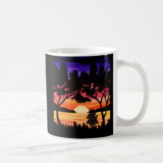 Ocean Sunset Painting Mug