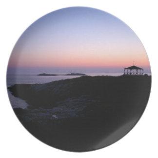 Ocean Sunset Dinner Plates