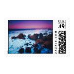 Ocean Sunset Postage Stamp