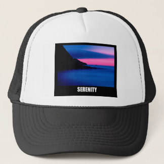 Ocean Sunset Serenity Trucker Hat