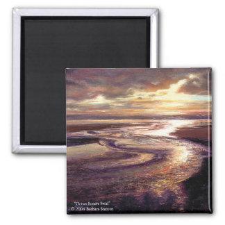 """""""Ocean Sunset Swirl"""" Magnet"""
