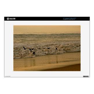 """OCEAN SUNSET WITH SEABIRDS SKINS FOR 15"""" LAPTOPS"""