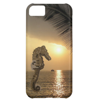 Ocean Sunset with Seahorse iPhone 5C Case