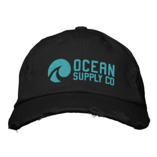 Ocean Supply Company Embroidered Baseball Hat