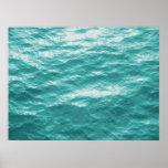 Ocean Surface photo painting Print