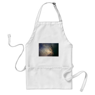 Ocean surfing wave inside view adult apron