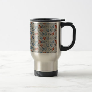 Ocean Swirls Linen Look Mug
