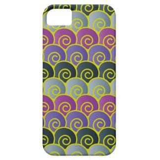 Ocean Swirls Purplish iPhone 5 Case