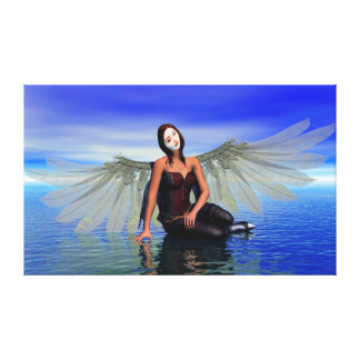 Ocean Tears Stretched Canvas Prints