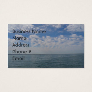 Ocean Theme Business Card