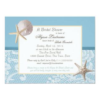 Ocean Theme Wedding Shower Card