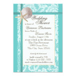 Ocean Theme Wedding Shower 5x7 Paper Invitation Card