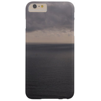 Ocean Themed, A View Of A Calm Ocean With Grey Wat Barely There iPhone 6 Plus Case