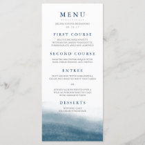 Ocean Tides Wedding Menu