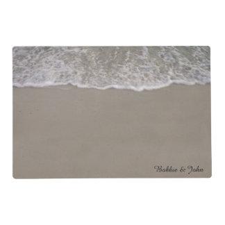 Ocean Tides Wedding Placemat