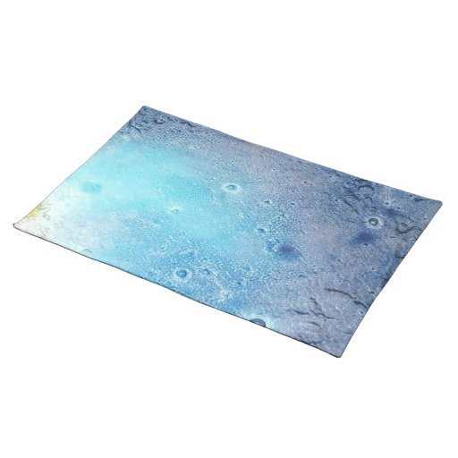 Ocean Topography Placemat