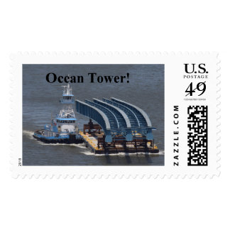 Ocean Tower TZB Girder Postage Stamp