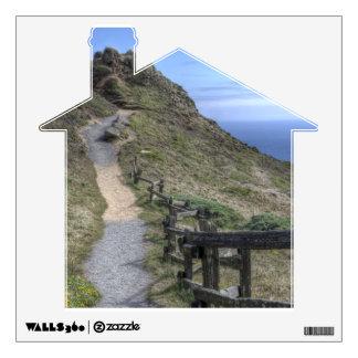 Ocean Trail Wall Sticker