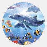 Ocean Treasures Classic Round Sticker