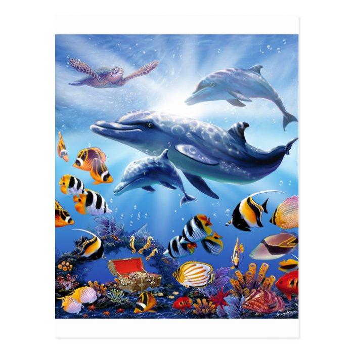 Ocean Treasures Postcard