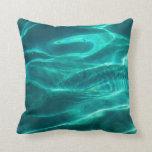 Ocean Turquoise Water Pillow