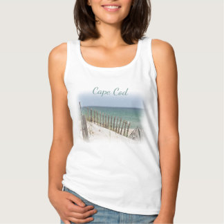 Ocean View and beach fence Tank Top