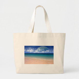 Ocean View Tote Bags