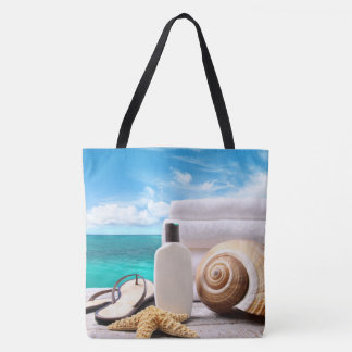 Ocean View Beach Tote Bag
