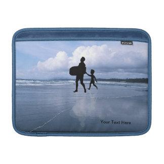 Ocean View Best Dad Collage MacBook Air Sleeve