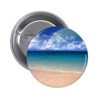 Ocean View Pinback Button