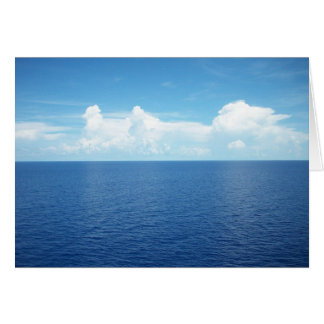 Ocean View Stationery Note Card