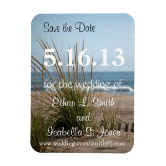 Ocean View Flexible Magnet - Save the Date