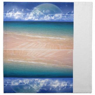Ocean View Cloth Napkins