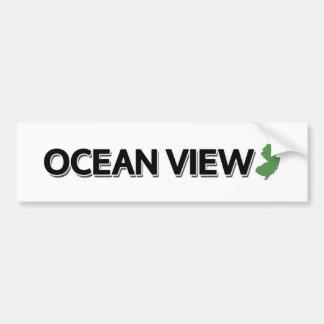 Ocean View, New Jersey Bumper Sticker